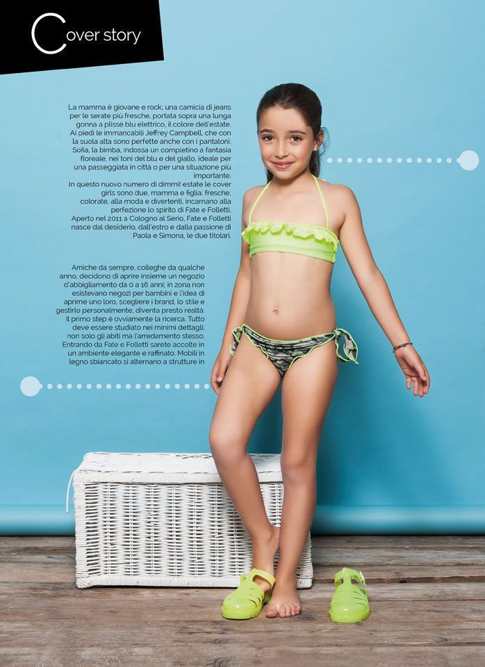 Foto fashion child shooting cover Magazine Dimmi Bergamofotografia di moda foto fashion shooting cover Magazine Dimmi Bergamo