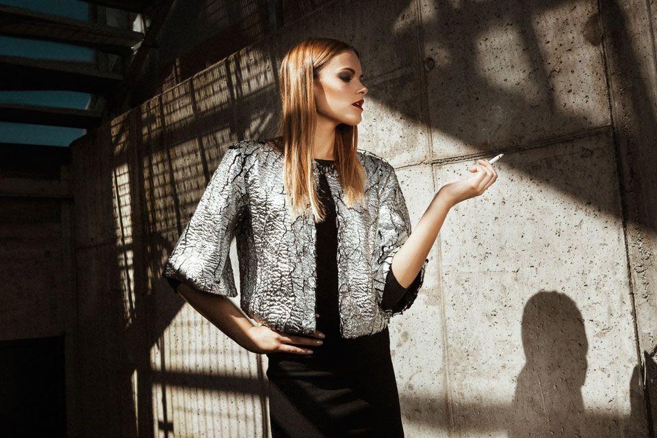 fotografia di moda foto fashion shooting street underground cover Magazine Dimmi Bergamo