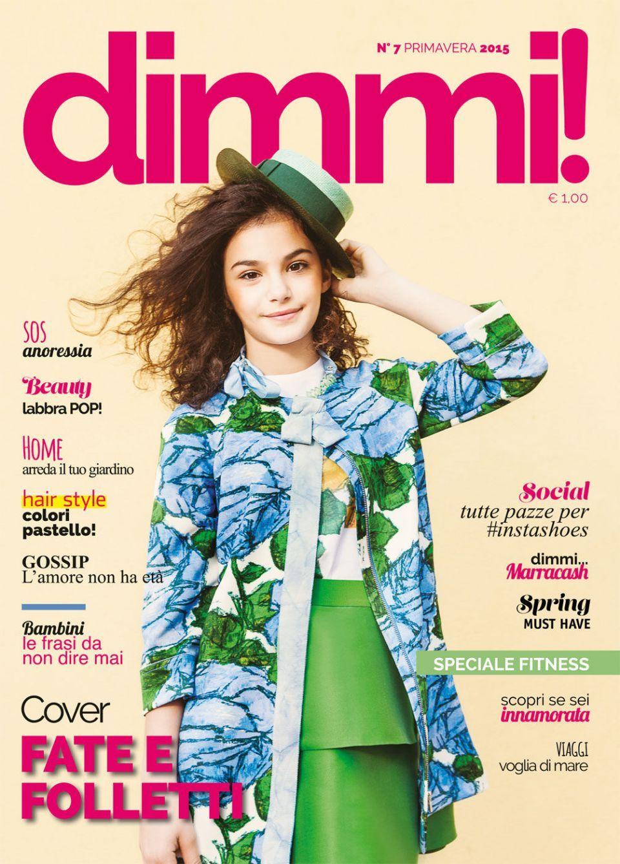 fotografia di moda bambini child foto fashion shooting cover Magazine Dimmi