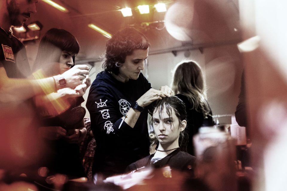 Reportage Backstage Milano Moda Donna Fall/Winter 2016/2017