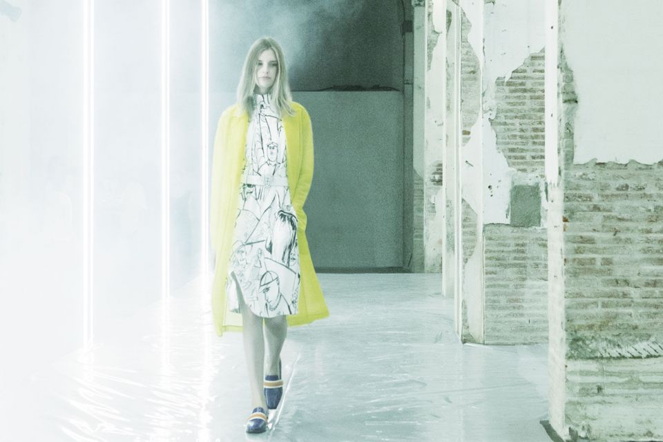 Total look Womenswear preview spring/summer 2016 Pitti Uomo Firenze