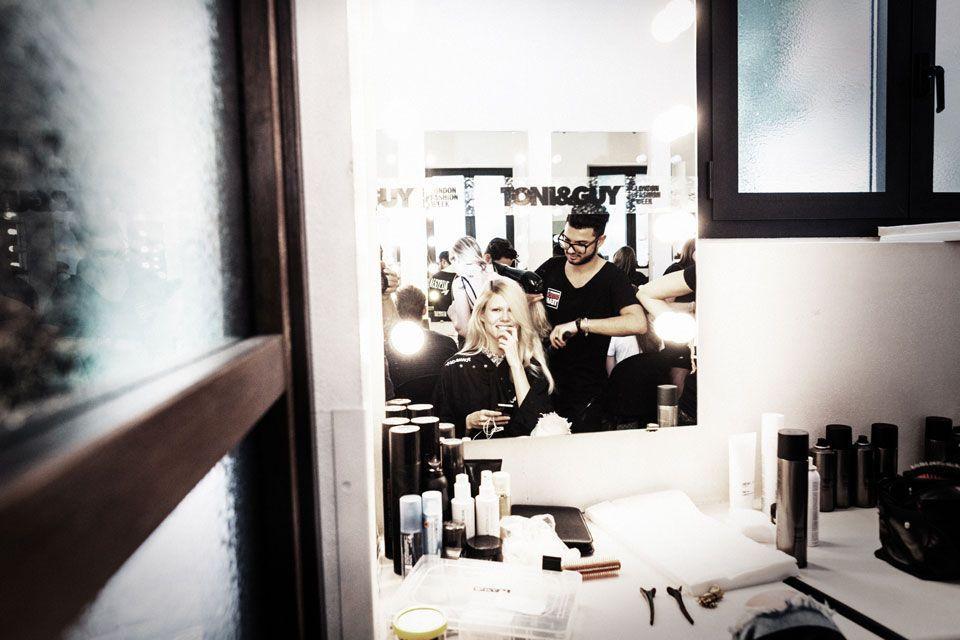 reportage fashion show Marangoni 2014