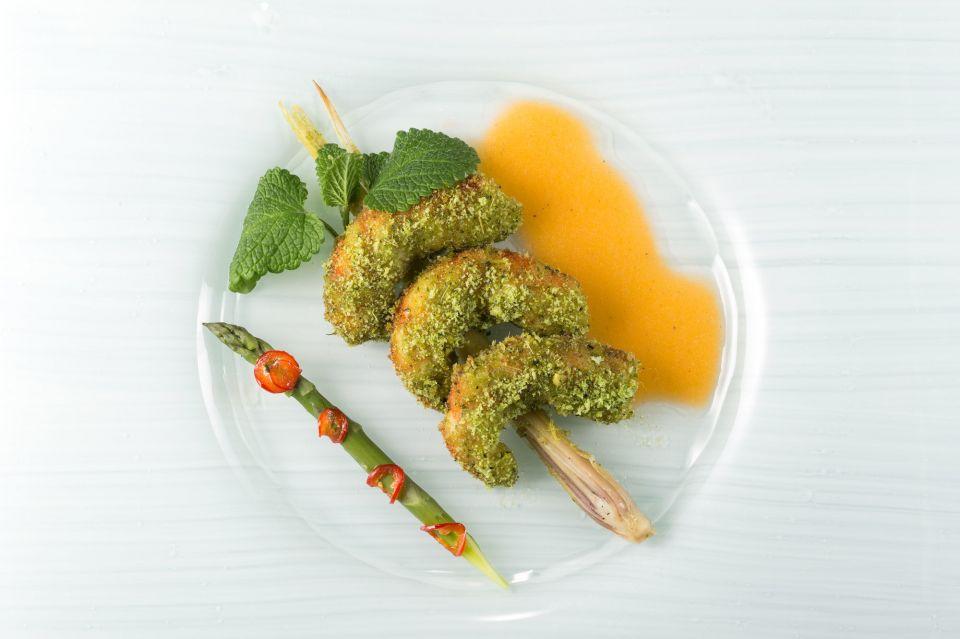Fotografie di piatti per chef