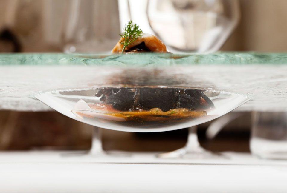 food still-life chef Vicenzo Candiano La Locanda Don Serafino Ragusa Ibla