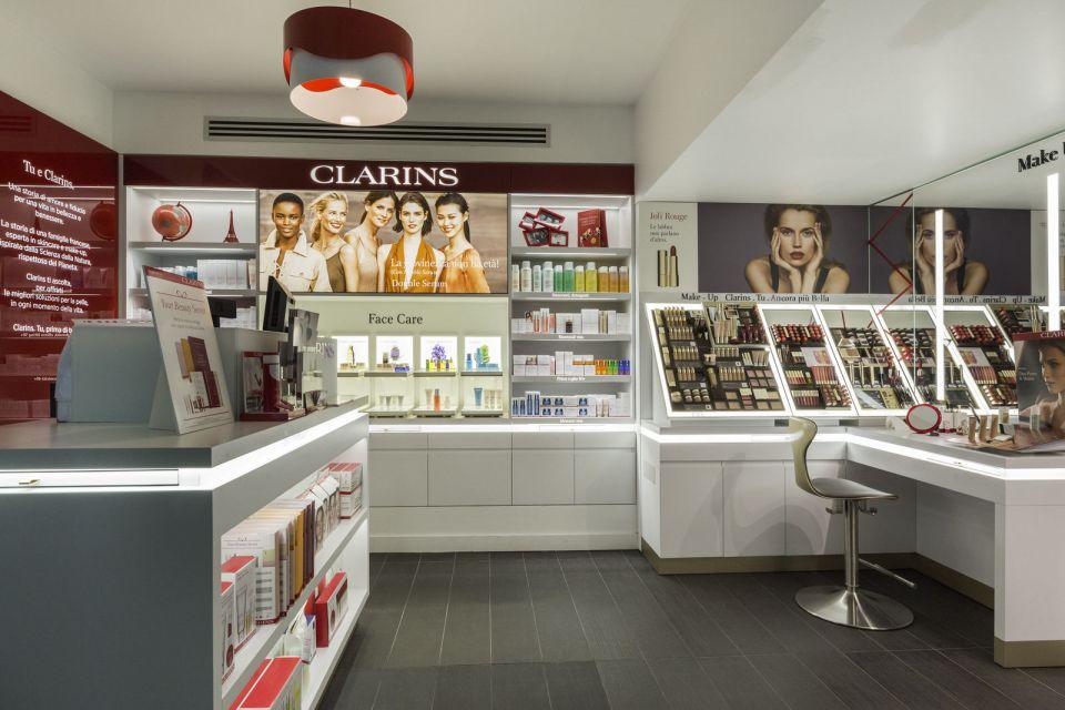 Negozio Clarins Skin Milano