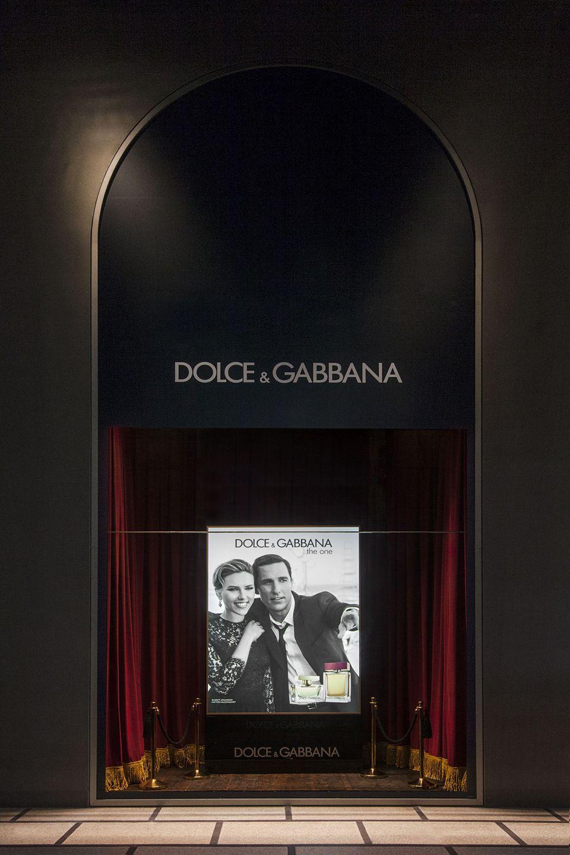 Foto vetrine Rinascente Milano Dolce&Gabbana