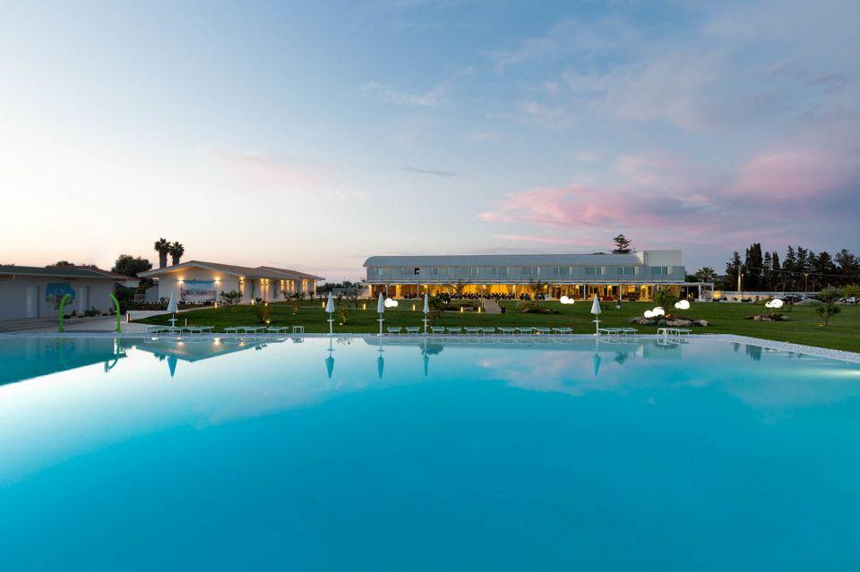 Hotel esterni piscina Siracusa
