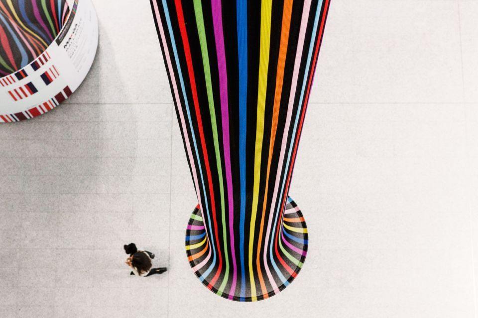 Installazione Missoni Arte Colore