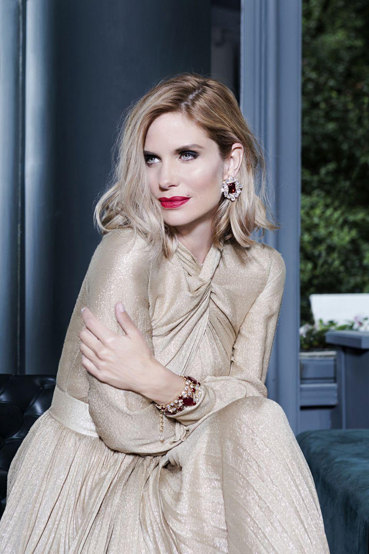 Filippa Lagerback Hi Gloss Bionic Blonde L'Oreal di Toni&Guy Milano