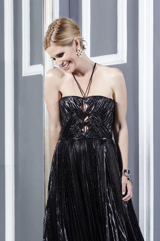 Foto Vanity Fair Filippa Lagerback Hi Gloss Bionic Blonde L'Oreal di Toni&Guy