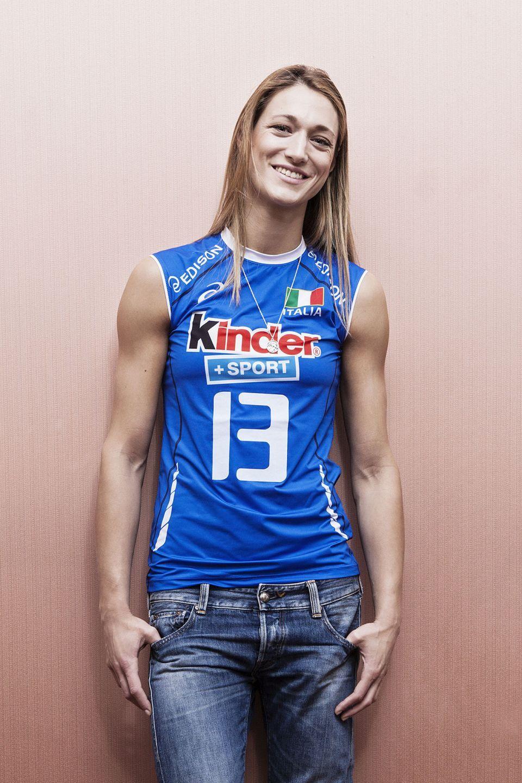 Ritratti fotografici Portrait Valentina Arrighetti Nazionale volley Busto Arsizio