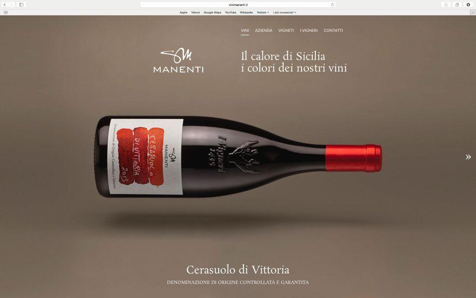 Fotografie di vini per il web